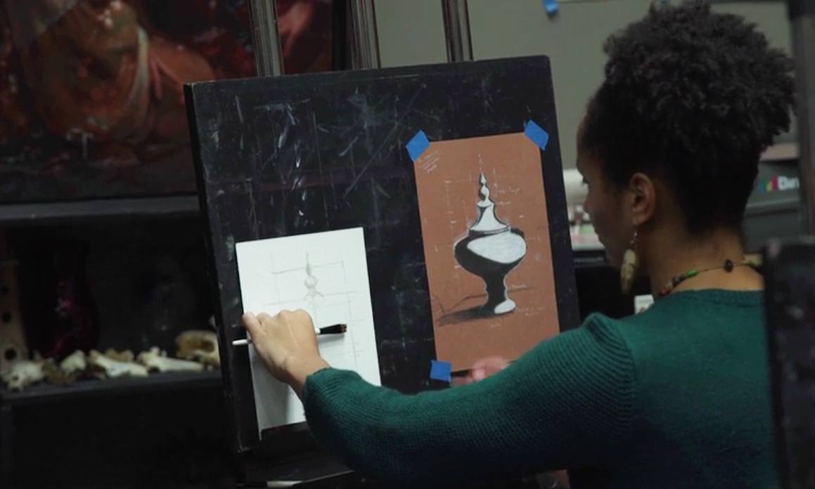 how to oil paint 1