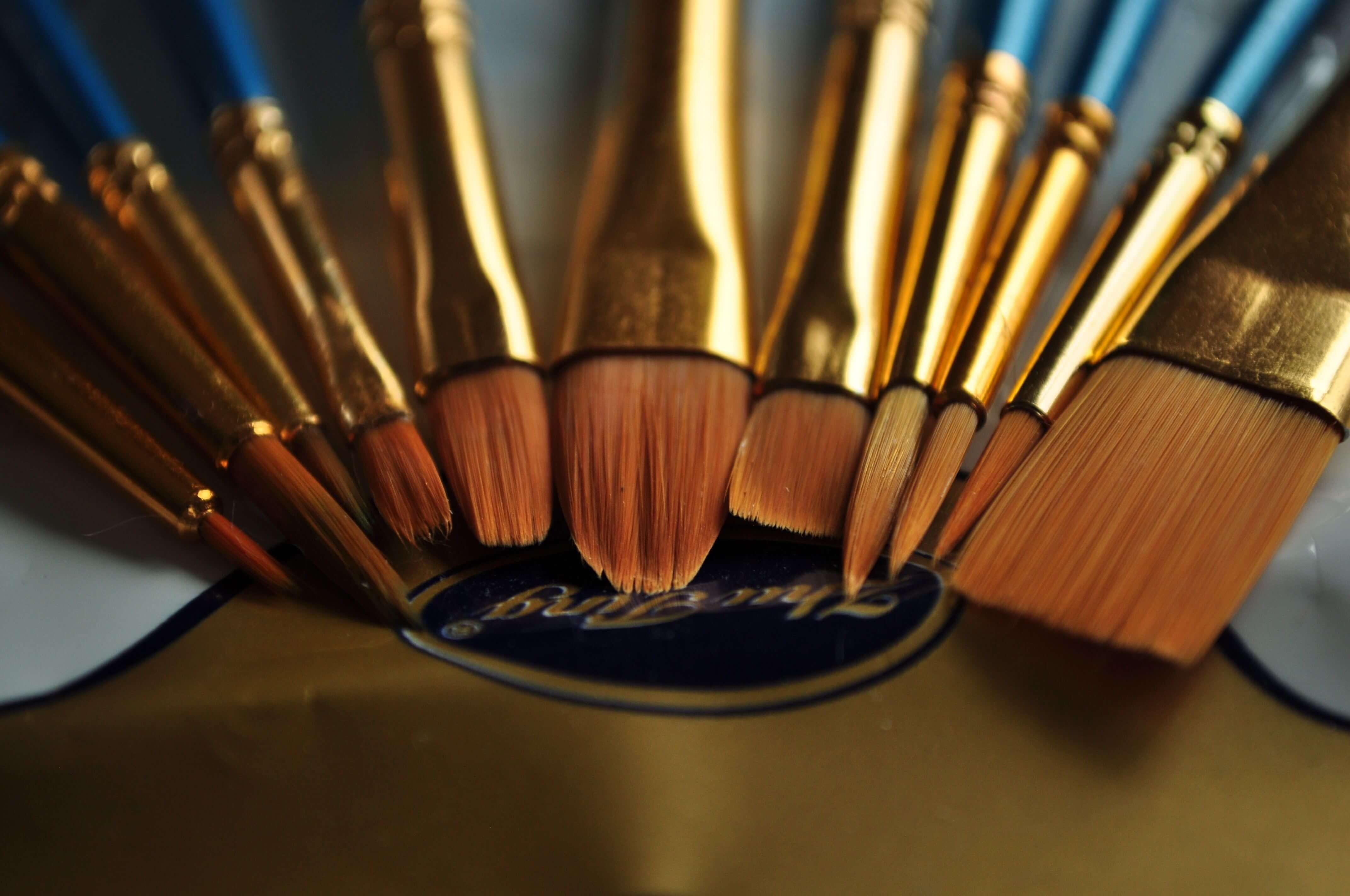 paint brushes 3